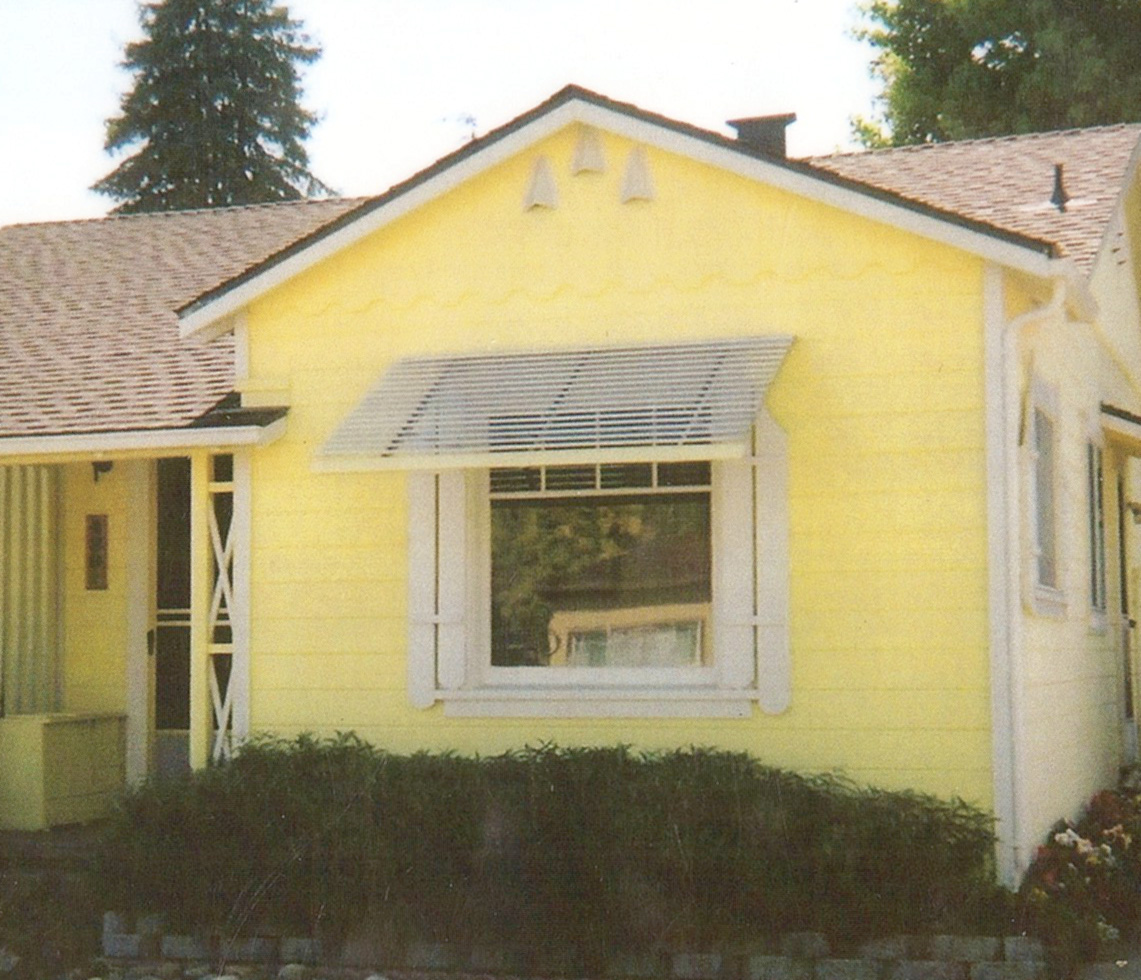 Updated Home Exterior With Bay Windows Airtight Windows