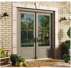 swinging french patio doors airtight windows - Patio Doors French