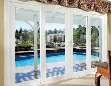 Santa cruz patio doors installations for Center sliding patio doors